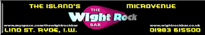 The Wight Rock Bar, Ryde. Live Bands regularly