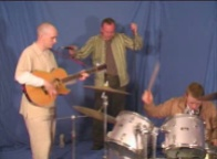 meekjoe Video clip 'Thousand Natural Shocks'. Performing in blue Screen Studio at Hermeston. Click on image to watch in Windows Media Player or similar. Low Resolution 256wmv files.